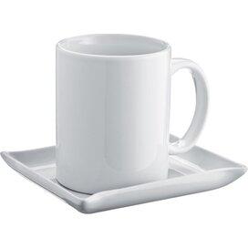 Koffiekopje met schotel Zeitz