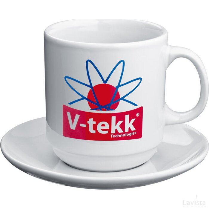 Koffiekopje met schotel Zehdenick