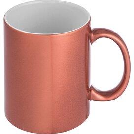 Metallic glanzende koffiemok Trebbin