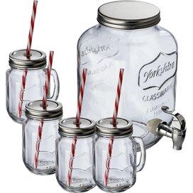 Glazen drinkset Vacha