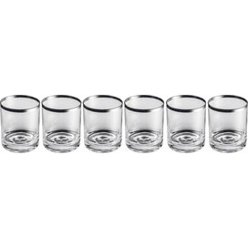 Set 6 whiskyglazen Tauber