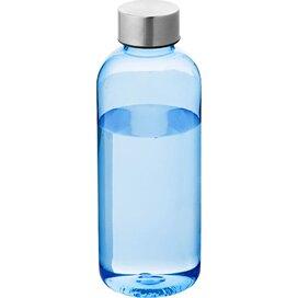 Spring drinkfles Transparant blauw