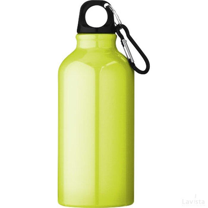 Oregon drinkfles met karabijnhaak Neon Yellow