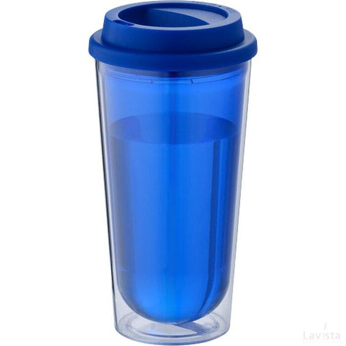 Kota geïsoleerde thermosbeker blauw