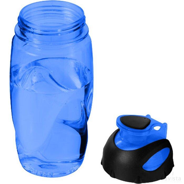 Gobi sportfles Transparant blauw