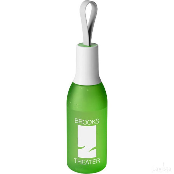 Flow drinkfles Frosted green,Wit