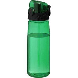 Capri sportfles Transparant groen