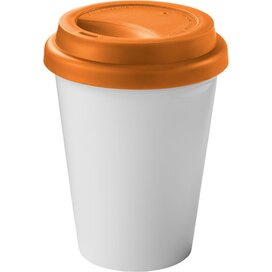 Zamzam geïsoleerde drinkbeker Wit,Oranje