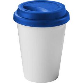 Zamzam geïsoleerde drinkbeker Wit,koningsblauw