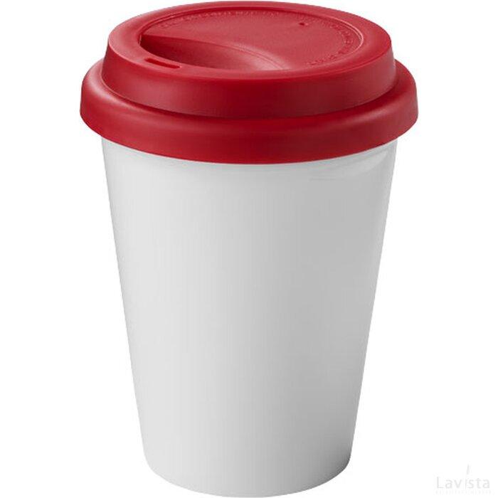Zamzam geïsoleerde drinkbeker Wit,Rood