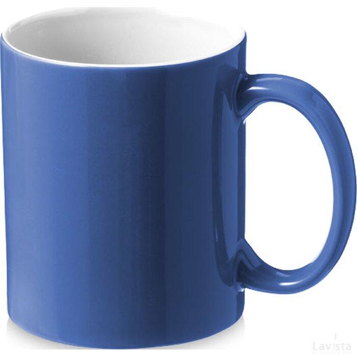 Java mok blauw,Wit