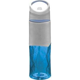 Radius geometrische sportfles blauw