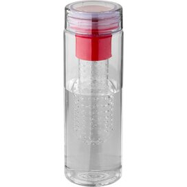 Fruiton infuser drinkfles Transparant,Rood