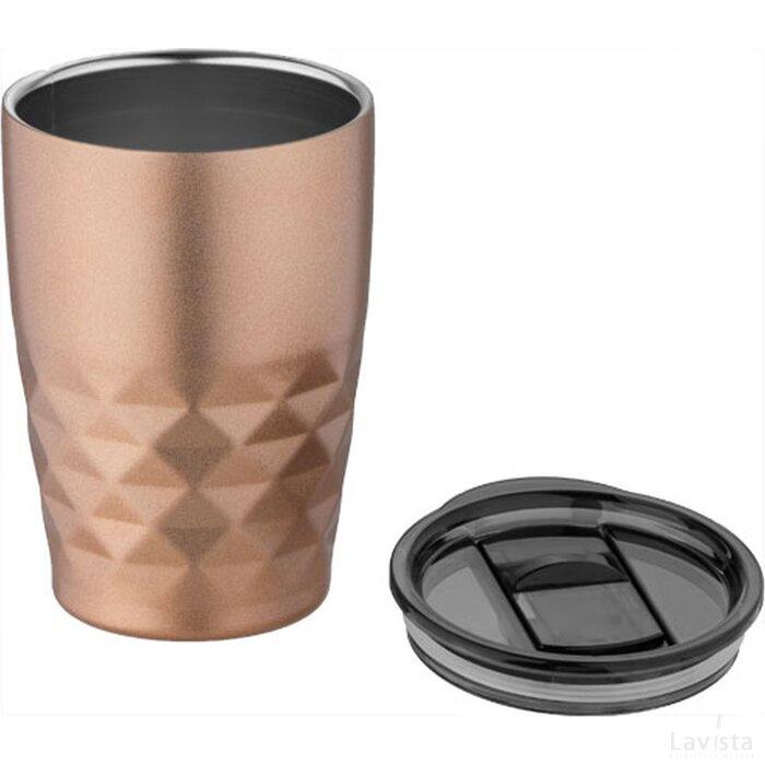 Geo koper vacuüm geïsoleerde drinkbeker Copper