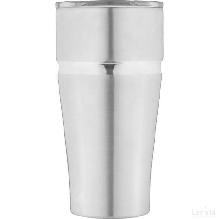 Milo koper vacuüm geïsoleerde drinkbeker Zilver