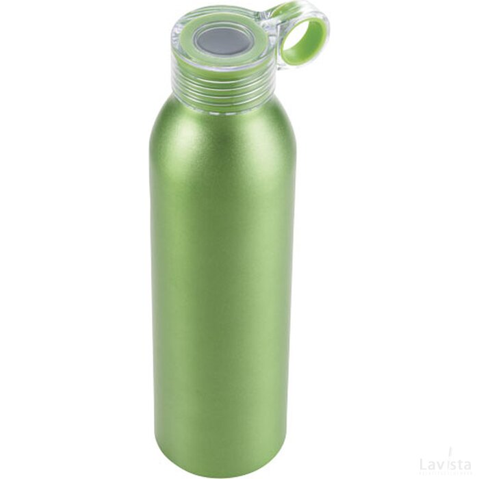 Grom aluminium sportfles Lime