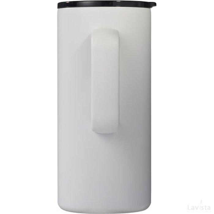 Valhalla koper vacuüm geïsoleerde drinkbeker met handvat Wit