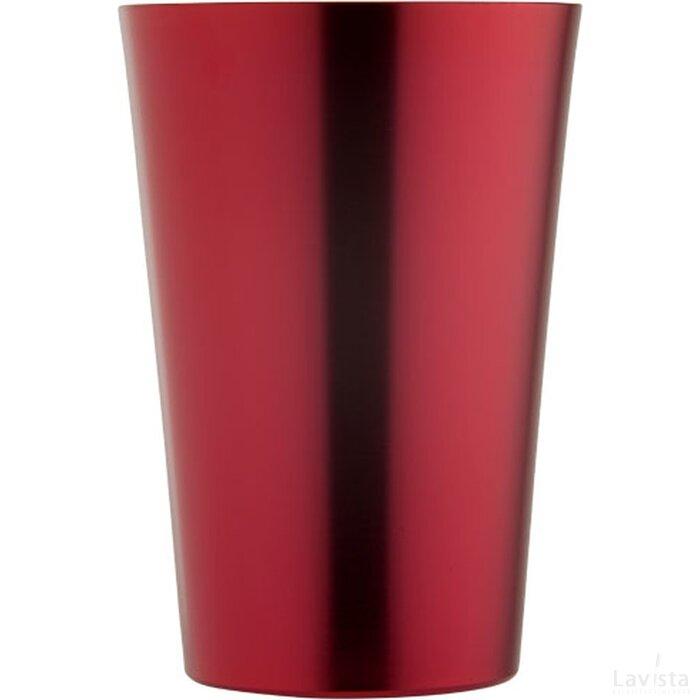 Koperen drinkbeker Rood