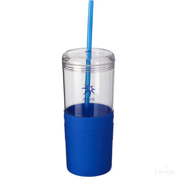 Babylon drinkbeker met rietje