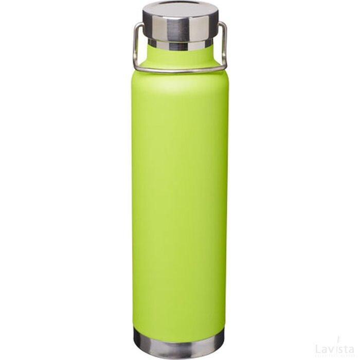 Thor koper vacuüm geïsoleerde drinkfles Lime
