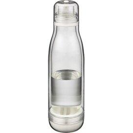 Spirit sportfles met glazen binnenwand Transparant