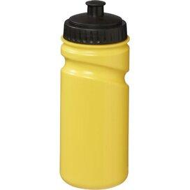 Gekleurde Easy Squeezy bidon geel,Zwart