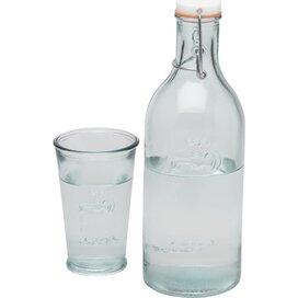 Waterkaraf met glas Transparant