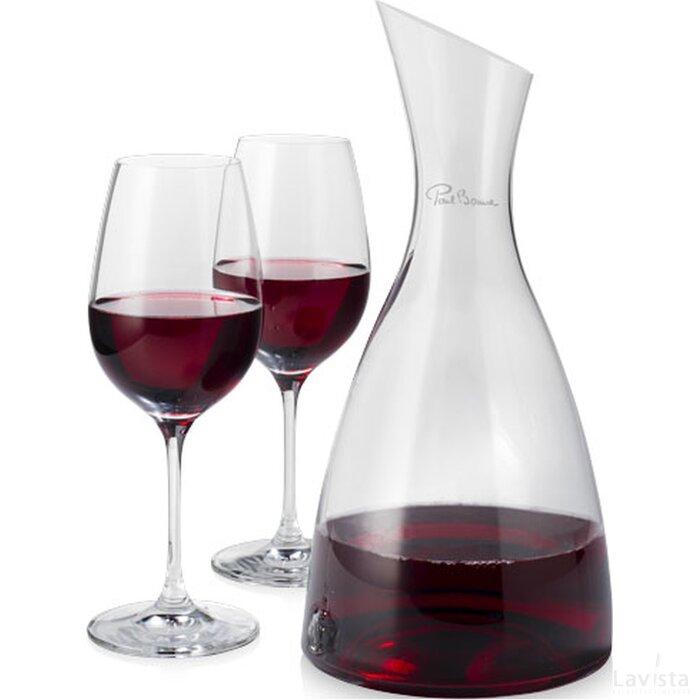 Prestige decanteerkaraf met 2 wijnglazen