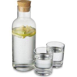 Lane karaf met glasset Transparant