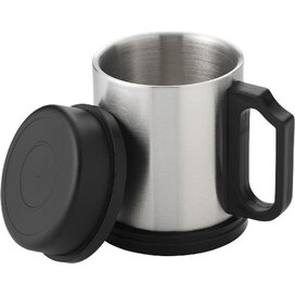 Barstow geïsoleerde drinkbeker Zilver,Zwart