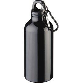 Oregon 400 ml drinkfles met karabijnhaak Zwart