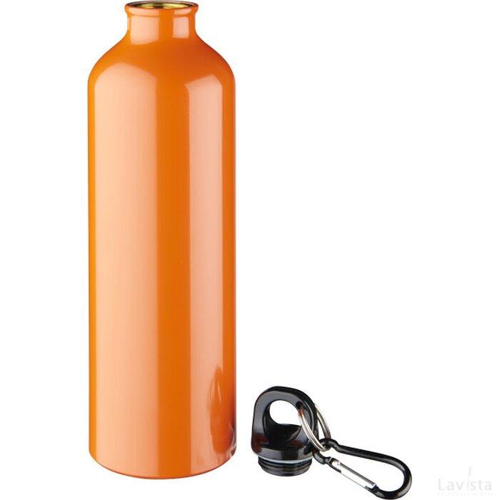 Pacific 770 ml drinkfles met karabijnhaak Oranje