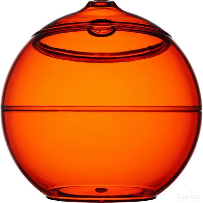Fiesta bal met rietje Oranje