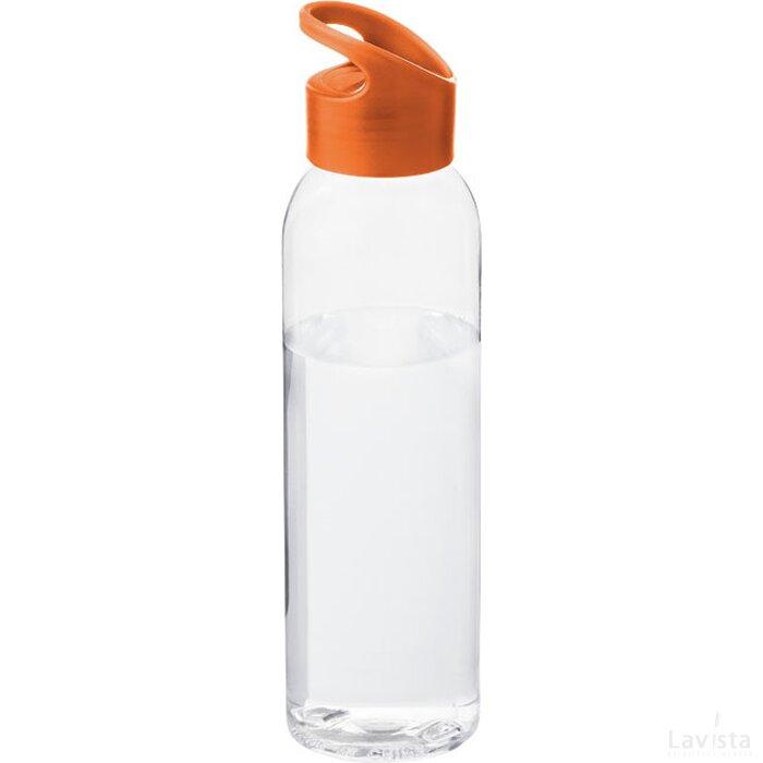 Sky drinkfles Oranje,Transparant