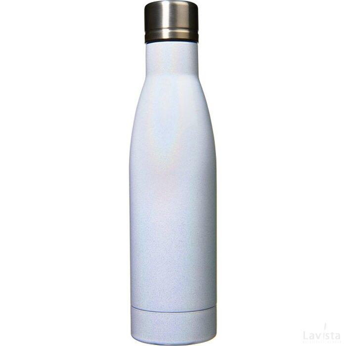 Vasa Aurora vacuüm geïsoleerde fles met koper Wit