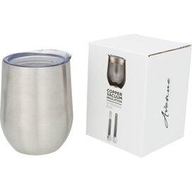 Corzo koperen vacuüm geïsoleerde drinkbeker Zilver