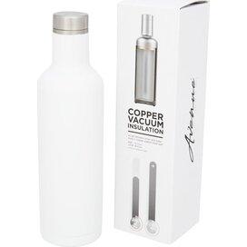 Pinto koper vacuüm geïsoleerde fles Wit