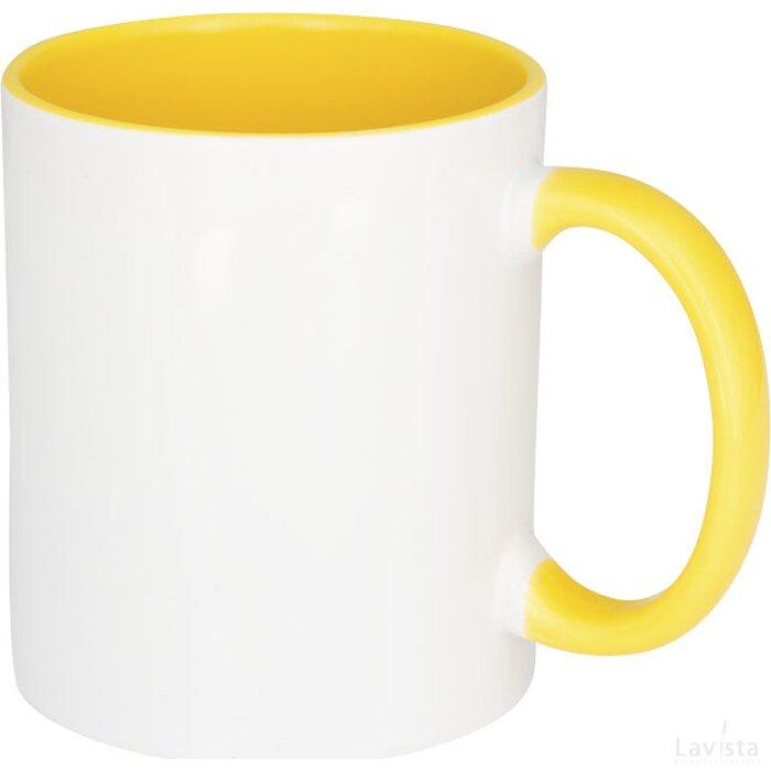 Pix 330 ml keramische sublimatie colour-pop mok geel