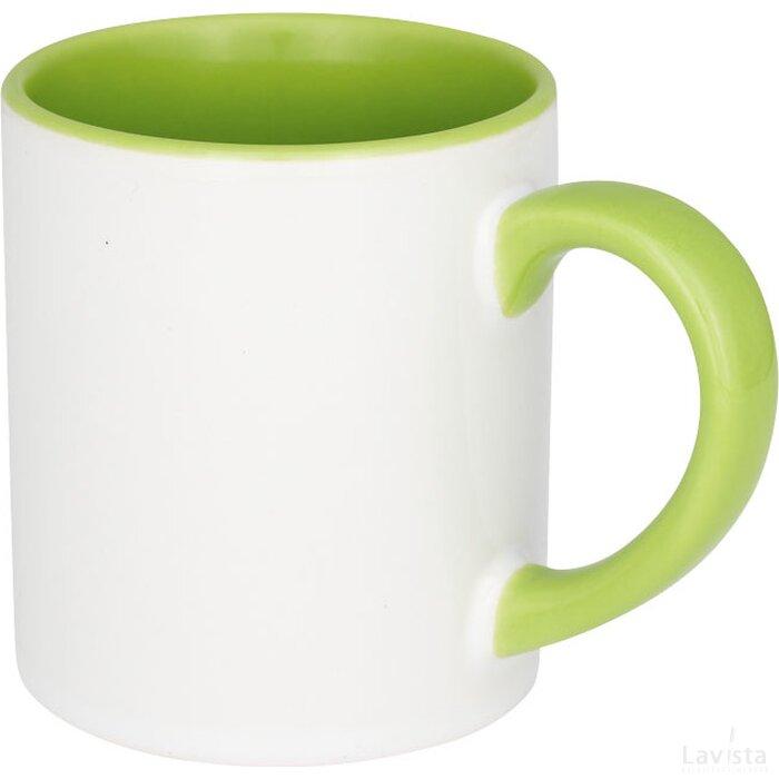 Pixi 250 ml mini keramische sublimatie colour-pop mok Groen