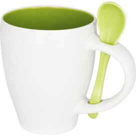 Nadu mok met lepel Groen