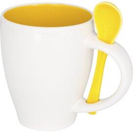 Nadu mok met lepel geel