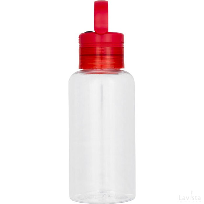 Lumi tritan 590 ml drinkfles met licht in de dop Rood