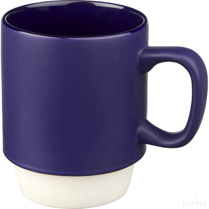 Arthur 420 ml keramische mok blauw