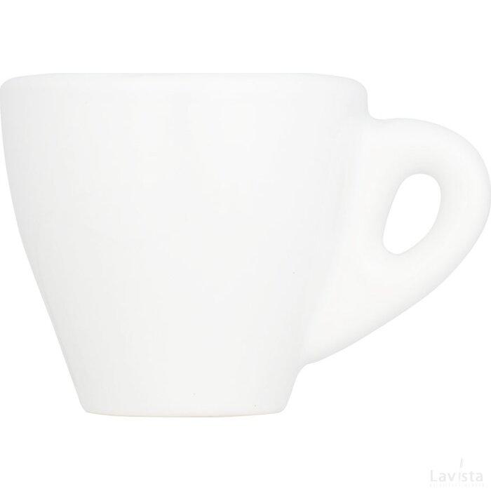 Perk witte espressomok Wit