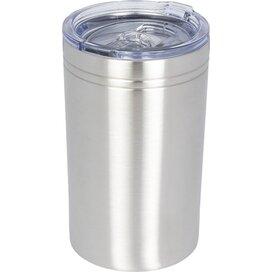 Pika 330 ml vacuum geïsoleerde beker en koeler Zilver