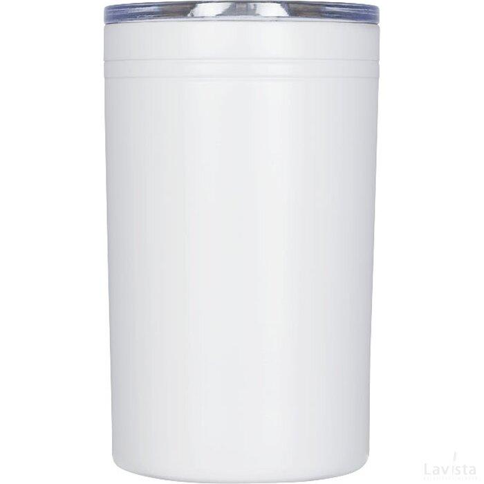 Pika 330 ml vacuum geïsoleerde beker en koeler Wit