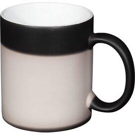 Kaffa 330 ml thermochromatische sublimatie mok Zwart
