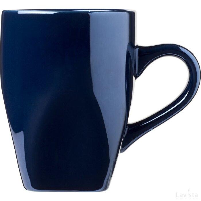 Cosmic 360 ml keramische mok blauw