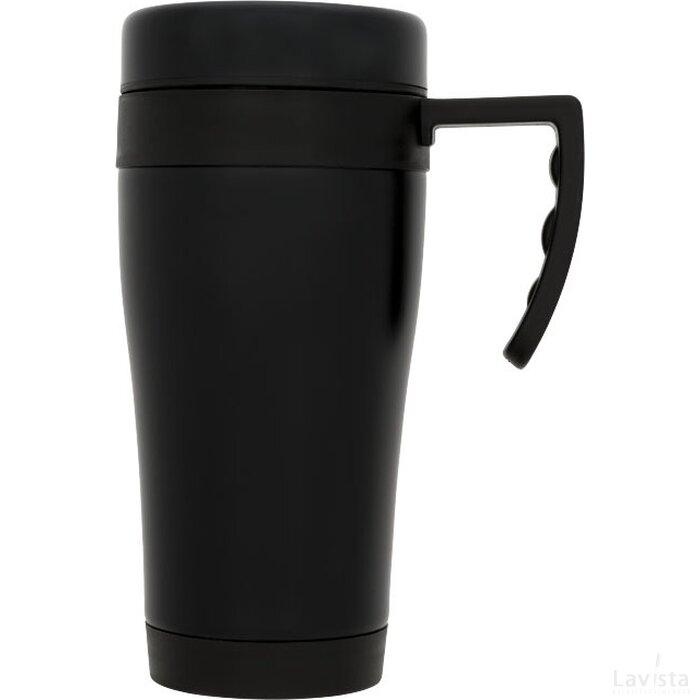 Cayo 400 ml geïsoleerde mok Zwart