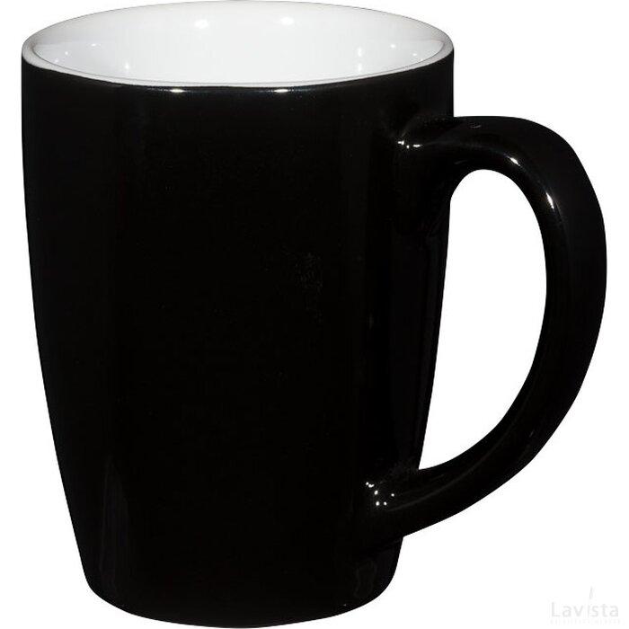 Mendi 350 ml keramische mok Zwart